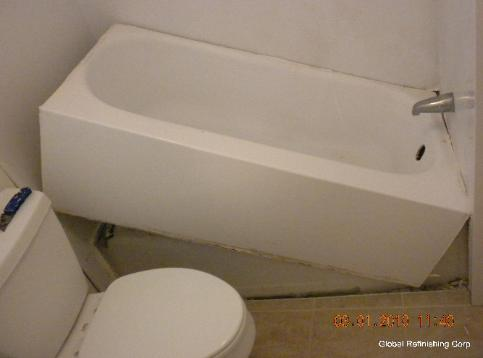 Bathtub liners pro 39 s and con 39 s for Tub liner installation
